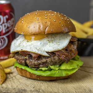 Sunrise burger